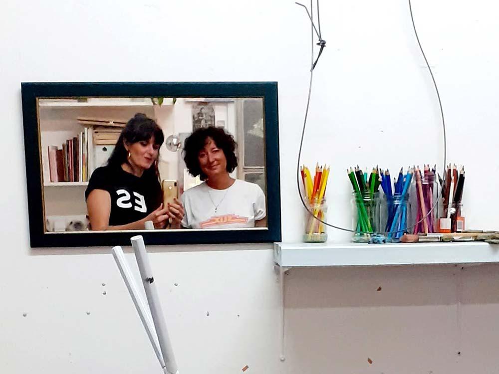 Leticia Vega and Caroline Higgins